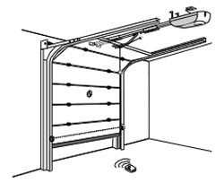 sicherheitspaket 3 kontaktleisten funk signal bertragung schaltleisten f r tore ebay. Black Bedroom Furniture Sets. Home Design Ideas